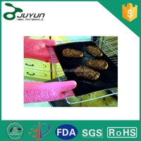 China supplier fire retardant bbq grill mat with FDA ROHS certificate