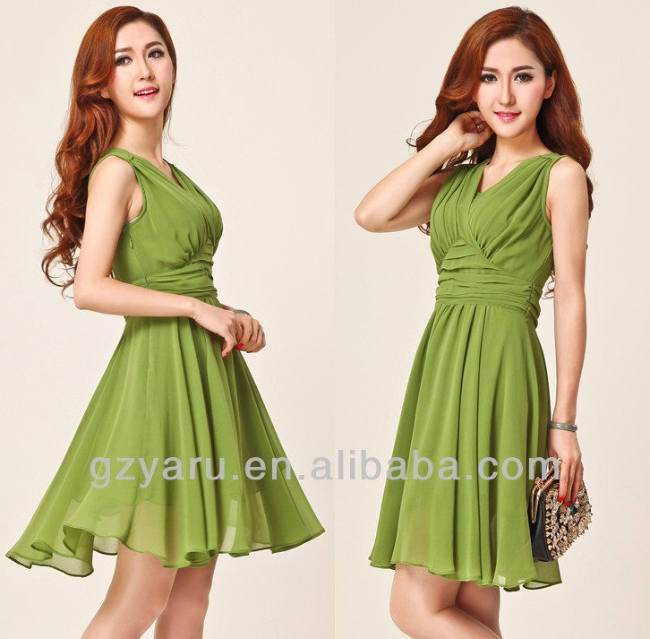 Summer ladies made in korea women dress