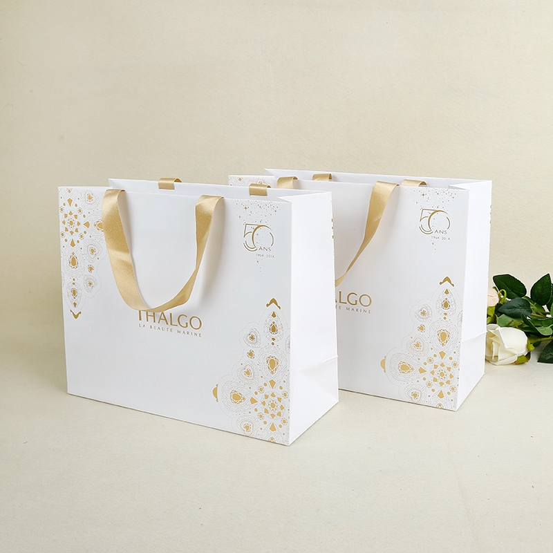 Clothing suppliers printing luxury gift bags fashion paper bag for women