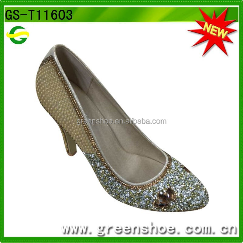 Top grade cheap high heel shoes for lady