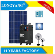 AC 120 volt solar power generator 300w complete solar energy system home