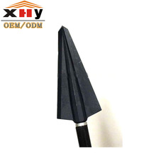 Outdoor Sports Hunting Archery Solid Broadhead 2 Blade Broadhead For Hunting Large Animals