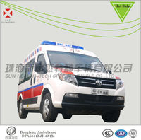 High Roof Ambulance,Dongfeng new ambulance sale,ambulance car price