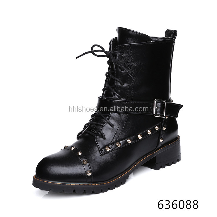 LACE-UP DR MARTENS BOOTS FOR WOMEN