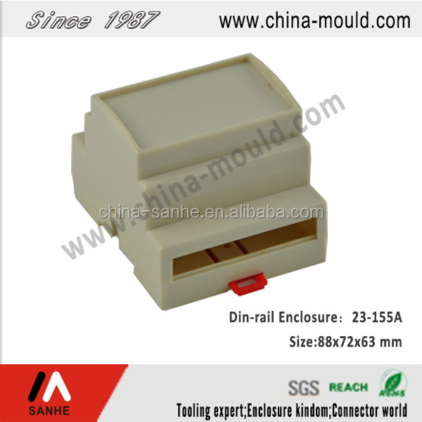 abs din rail enclosures for electronic