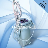 Ultrasonic Cavitation+Vacuum Liposuction+Laser+Bipolar RF+Roller Massage Fat Belly Burning Machine