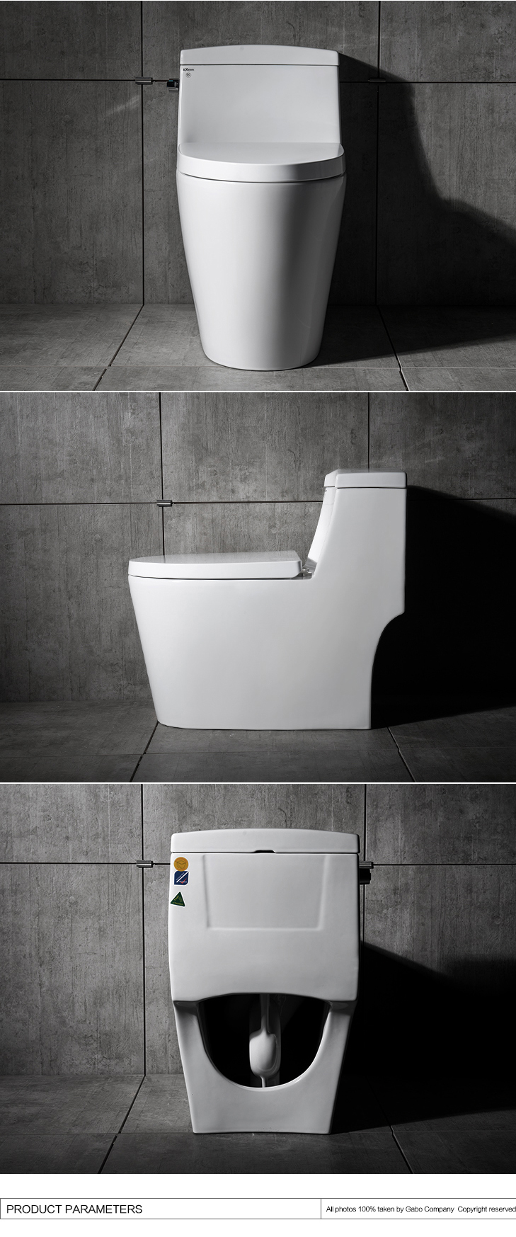 Chinese Made White Colored Public Toilet Bowl