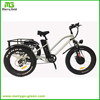 Cheap 48V 500W Alloy Frame 3 wheel Fat Tire Adult Pedal Electric Tricycle