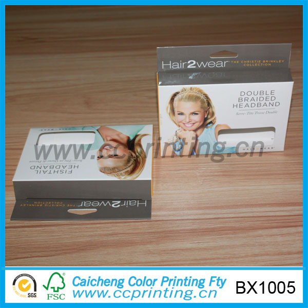 Fashion Paper Wig Box For Wigs