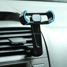360 degree rotation mobile phone holder car air vent cradle for all size smarthone