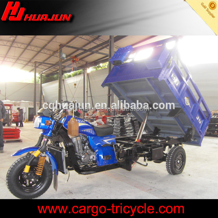 Delivery dumping truck/Hydraulic device for self dumping tricycle three wheel motorcycle