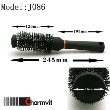professional salon heat resistant and ceramic brush