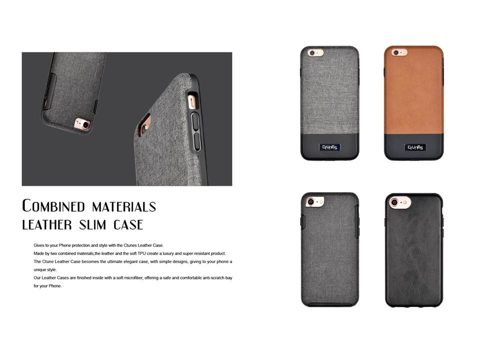 C&T Ultra Thin Scratch-Resistant Dual Coating Lightweight Hard Case for Apple iPhone 6