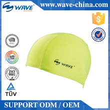 2015 Hot Selling Modern Style Brand New Design Adult Printing Silicone Swim Cap