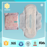 HC153 320mm color sanitary pad (ultra thin with blue chip)