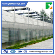 Hot Sale Commercial Multi Span Tunnel Poly Film Greenhouse