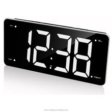 LED Digital Alarm Clock Jumbo Digit FM Radio