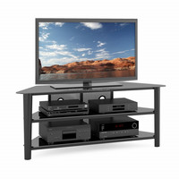 high quality lcd tv stand /tempered glass TV stand