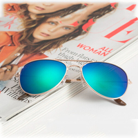 Wholesale promotion modern heart/star/round shape diffraction plastic refractive sun glasses