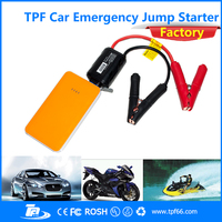 TPF 12 voltage portable power bank car jump starter with SOS Flashing torch