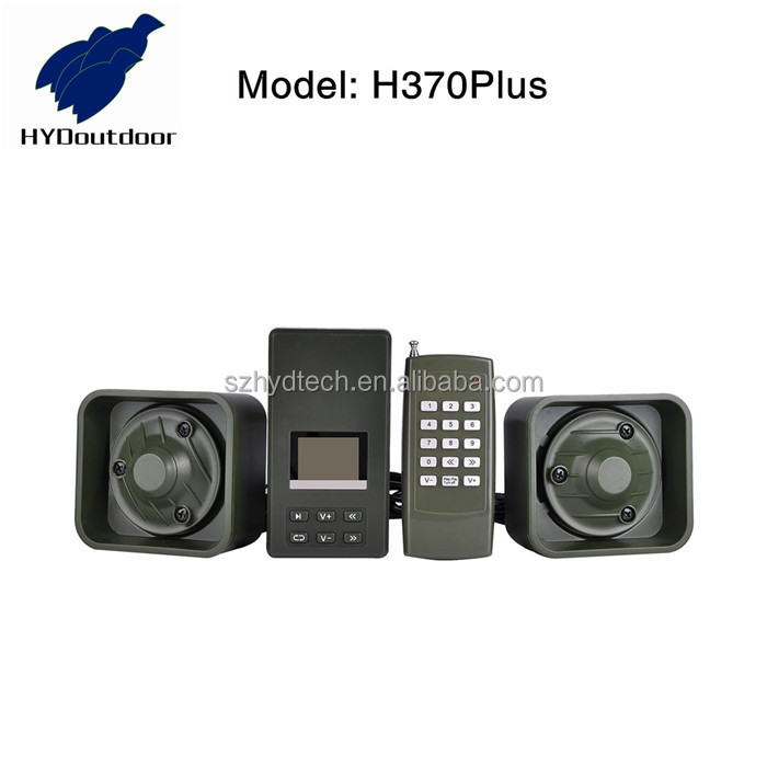 Electronic mp3 bird callers player for hunting H370Plus