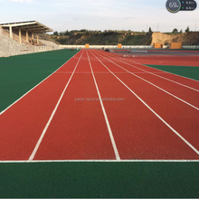 Sports Field Construction Polyurethane Synthetic Running Tracks surface