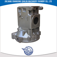Grey iron & ductile iron cast Promotional Factory price WDT400 HT200 wdt series oil machine bridge shell mould casting product