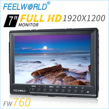 "7"" IPS panel HD lcd display high resolution brightness histogram smallest monitor with hdmi"
