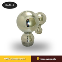 50.8mm hollow stainless steel decorative balls for stair handrail