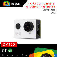 2015 Latest 4K Action Camera 170 Degree View Angle 60m Waterproof WiFi Remote Control Sports Cam 2.0'' Sports Camera DV900 OEM