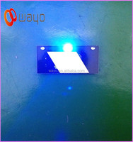 3 LED lights Blue led flash light/mini blinking led light