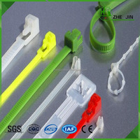 Zhe Jin Hot Sale Releasable Nylon Extra Heavy Duty Wire Cable Ties Management