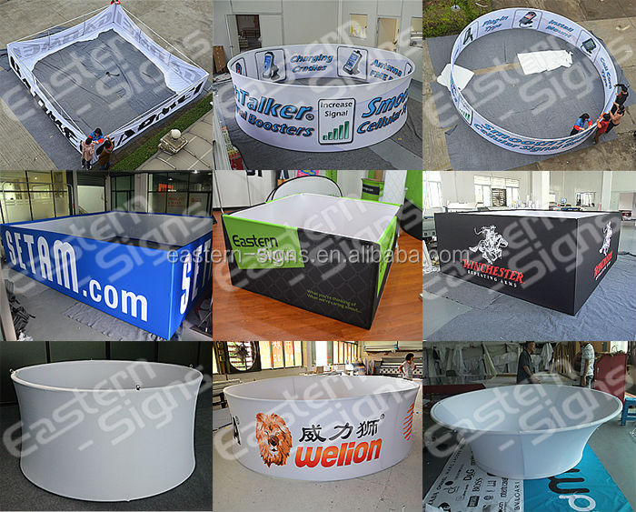 Exhibiton Custom Circular Hanging Sign