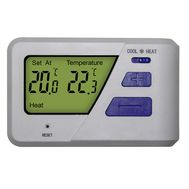 Easy Usage Heating And Cooling System Underfloor Heating Parts LCD Digital Thermostat For Boiler