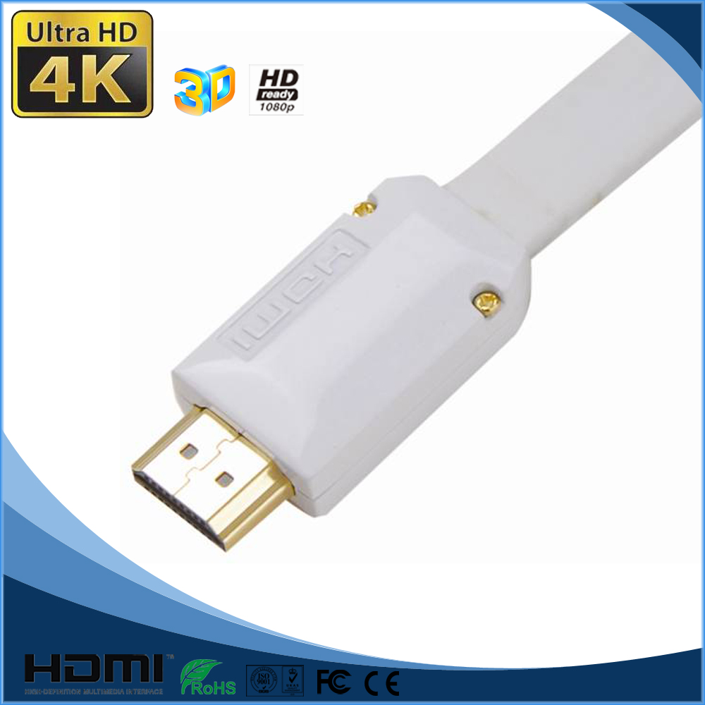 HDMI Connector Type and Braid Shielding mini dp to hdmi