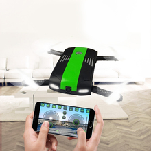2 colors 2.4G 6-Axis Altitude Hold HD Camera WIFI FPV RC Quadcopter Drone Selfie Foldable 9998 aircraft