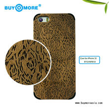 two-piece bamboo case and hand carved wood case in bedazzled phone cases for iphone 5s