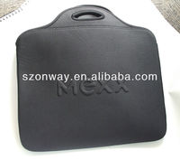 high quality neoprene laptop sleeve with handles