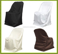Hot selling high quality cheap price 100pcs folding chair cover for wedding