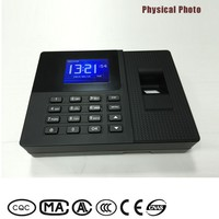 External time bell networking fingerpint time recorder nideka for 1000 capacitves users