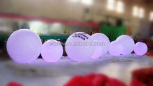 roll inside inflatable ball for wedding/decoration