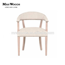 High quality wooden oak dining chair for restaurant and living room