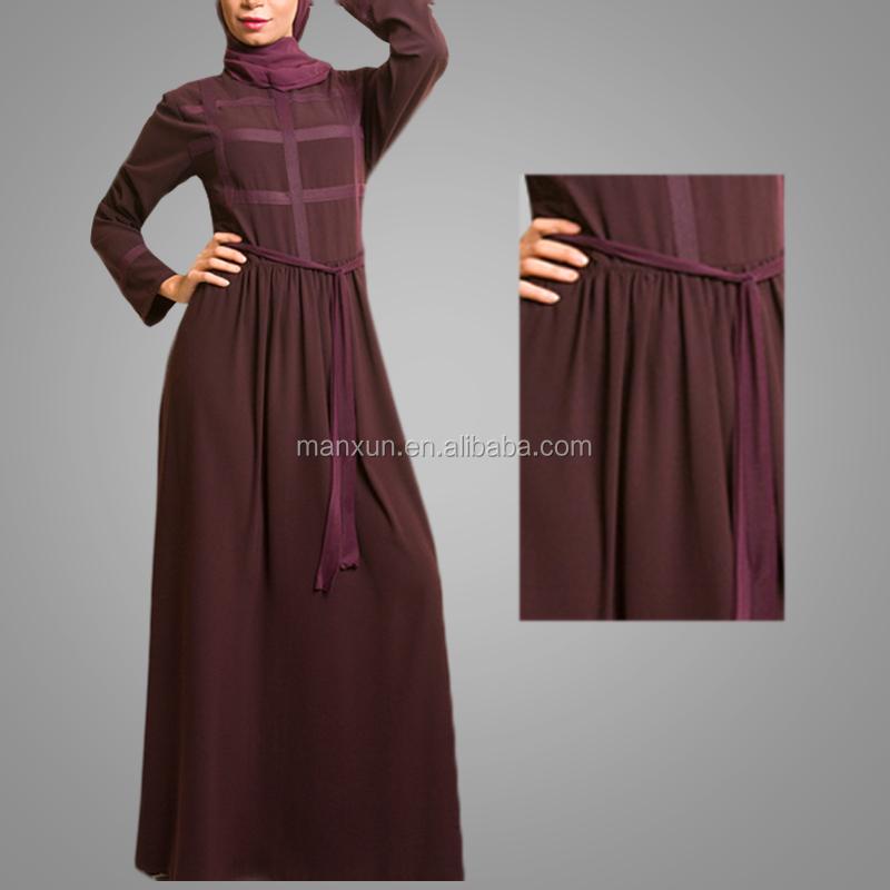 Newest Breathable Fabric Kebaya Nice Kuwait Clothing With