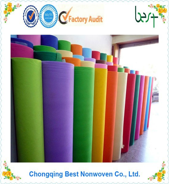 SGS certification and spun-bonded nonwoven technics spun bond non woven fabrics