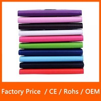 360 Degree Rotating Litchi Pattern Leather Cover Case For Samsung Tablet T700