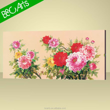 Dafen Traditional Flowers Wholesale Banksy Canvas Print