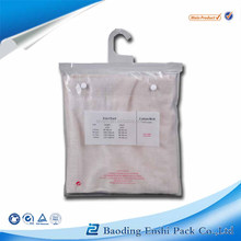 Best selling products hot new products for 2015 Custom hair extension plastic bag Hair packaging bags with hanger