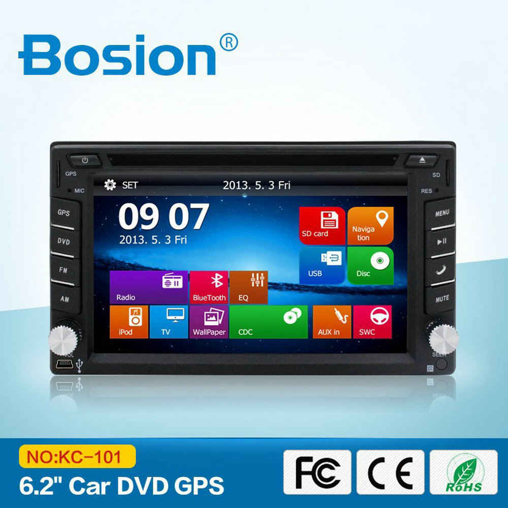 Bosion Classical Design HD Touch Screen Car DVD Player for VW jetta With Bluetooth