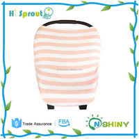 3-in-1 Unisex Multi-use Strenchy Baby Car Seat Canopy, Nursing Cover, Shopping Cart Cover