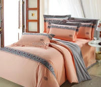 Luxury fashion patchwork comforter sets bedding set made in china bed sheet set